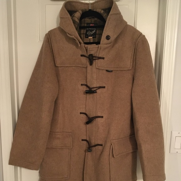 Gloverall Jackets & Blazers - Mens vintage Gloverall Tan Duffle Coat